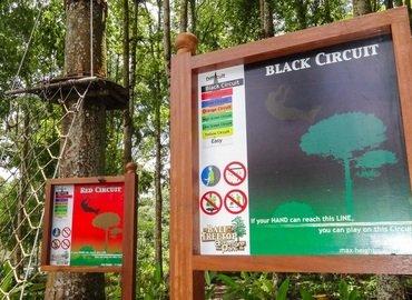 Tree Top Adventure Park Tour Tickets in Bali - Tour