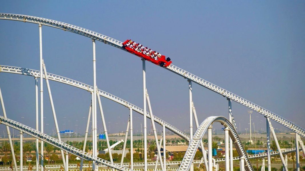 Ferrari & YAS Water World 01 DAY PASS, Sightseeing in Dubai - Tour