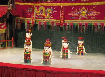 Vietnamese Water Puppet and Dinner on Cruise, Sightseeing in Ho Chi Minh - Tour