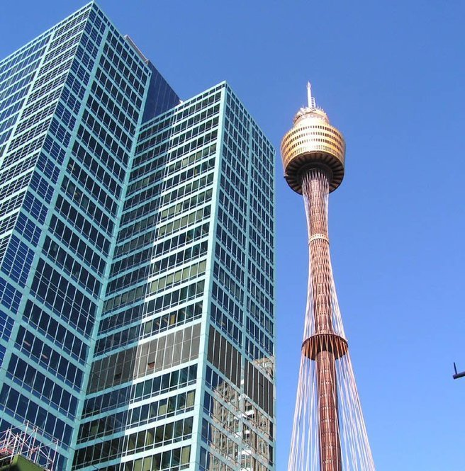 Sydney Tower Eye & 4D Cinema Experience Tickets in Sydney - Tour