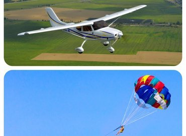 Combo#3 - Parasailing & Microlight Flying - Tour