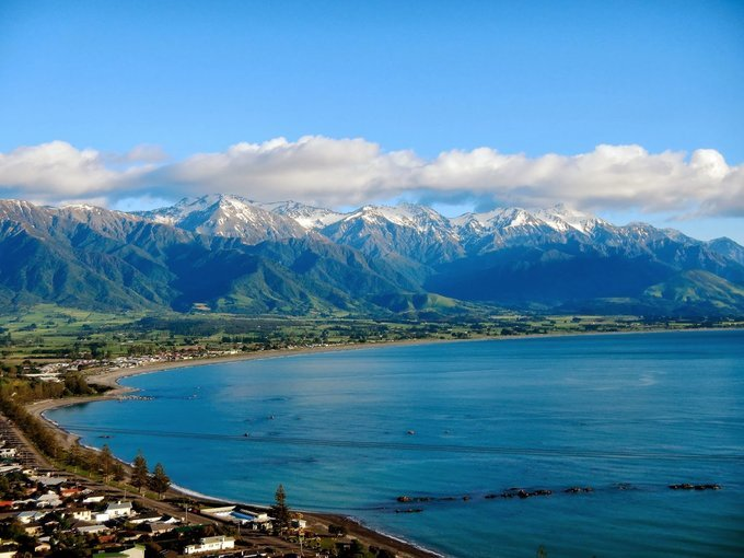 Kaikoura Whale Watching Tour, Sightseeing in Christchurch - Tour
