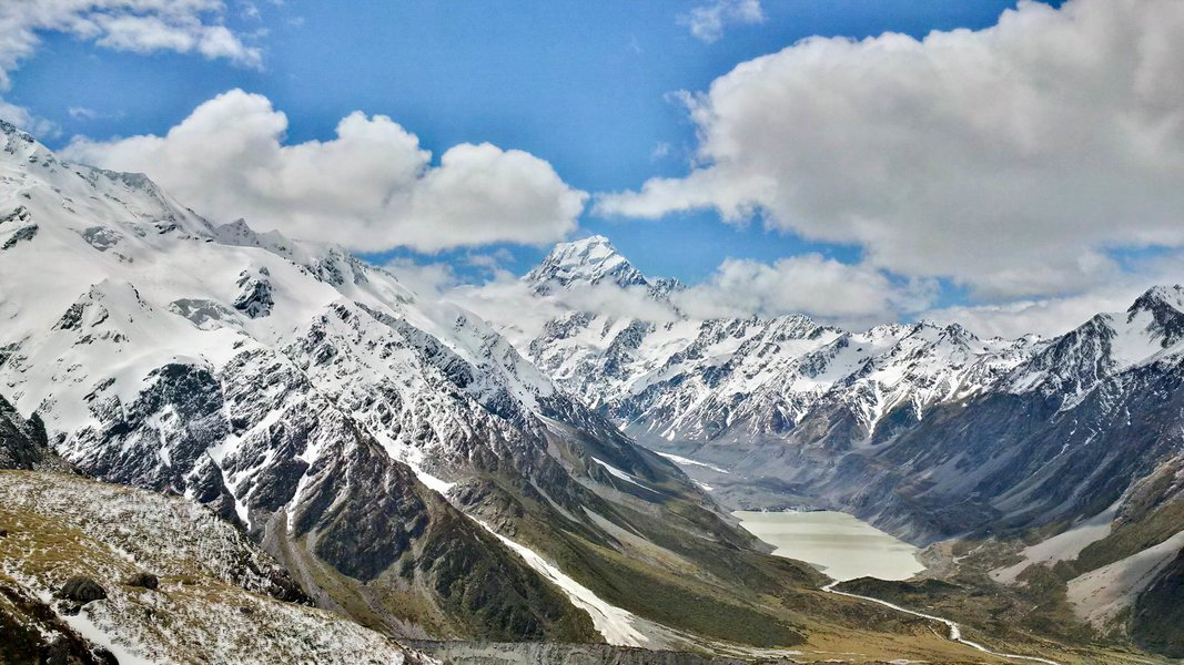 Mount Cook to Queenstown Day Tour (One Way), Sightseeing in Mount Cook - Tour