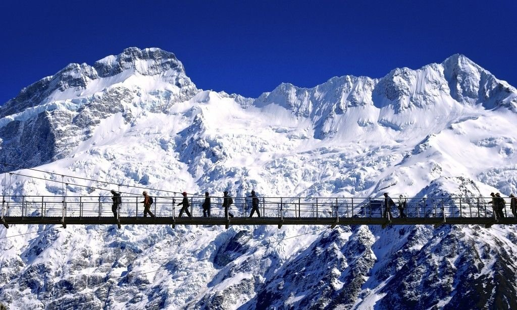 Mount Cook Sightseeing - Collection