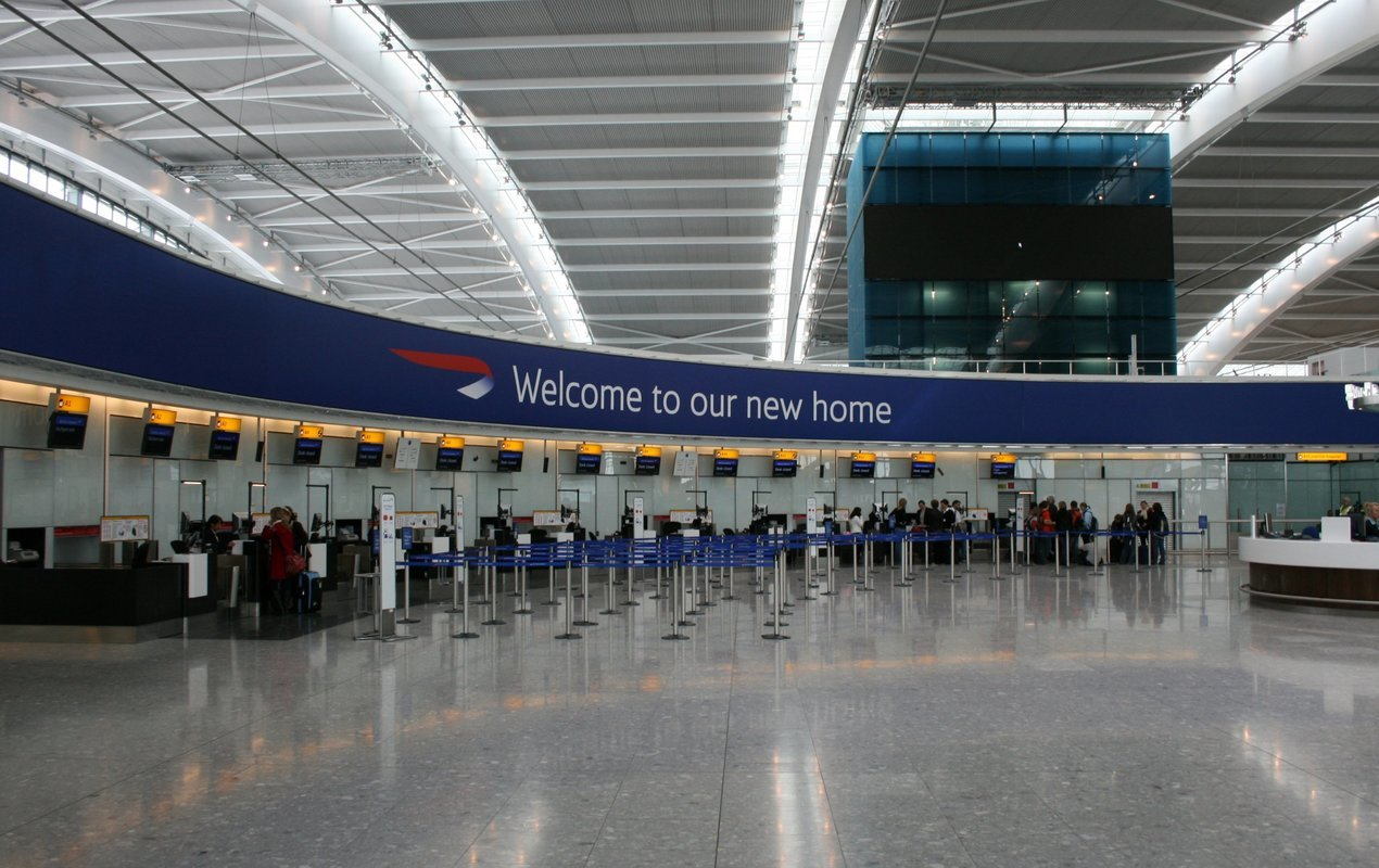 London Airport Transfers - Collection