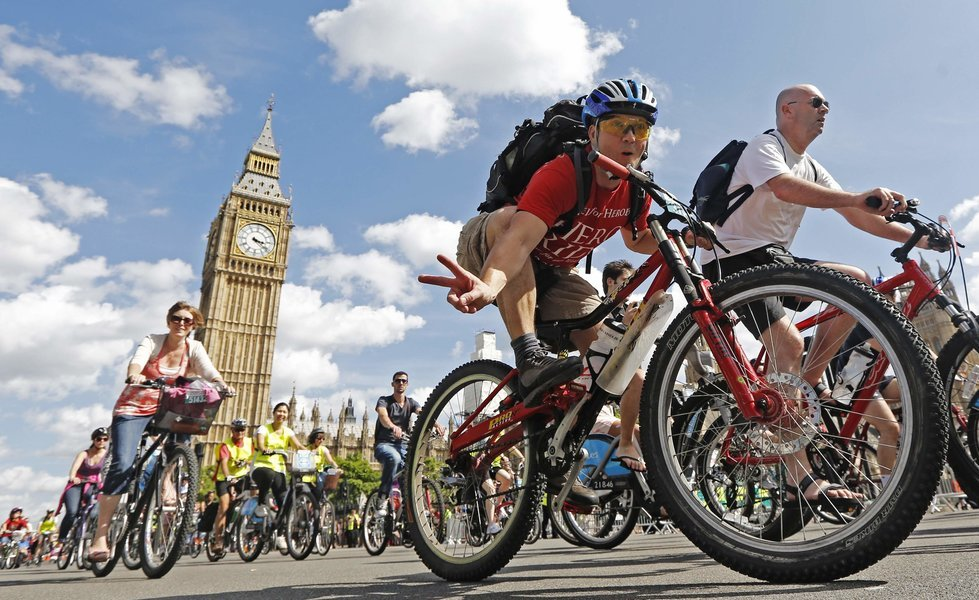 Classic London Bicycle Tickets in London - Tour