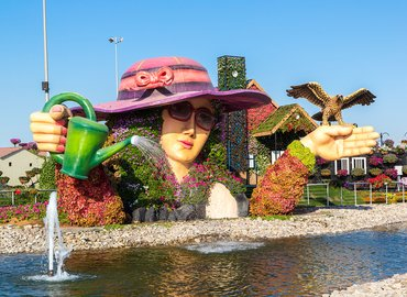 Miracle Garden Tickets & Transfers - Tour