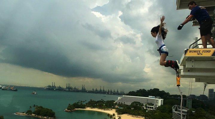 Sentosa Adventure Bungy Jump & Skybridge Tickets in Singapore - Tour