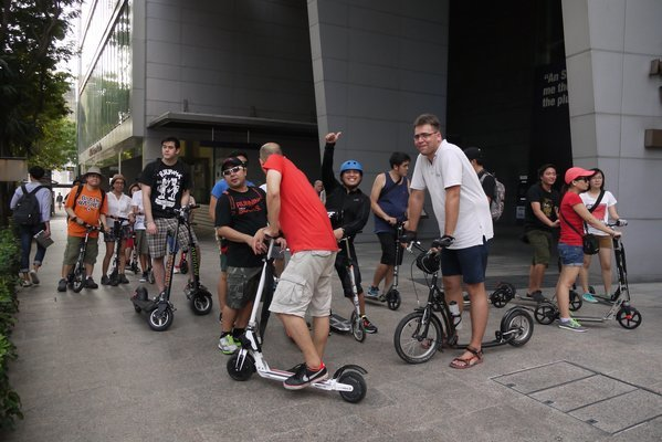 Electric Scooter Rental Tickets in Singapore - Tour