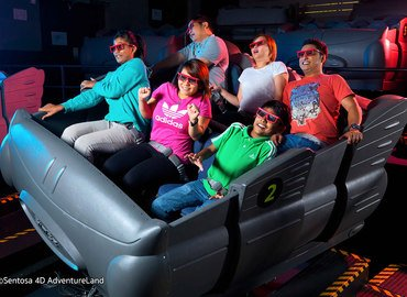 Sentosa 4D Adventure Land Tickets in Singapore - Tour