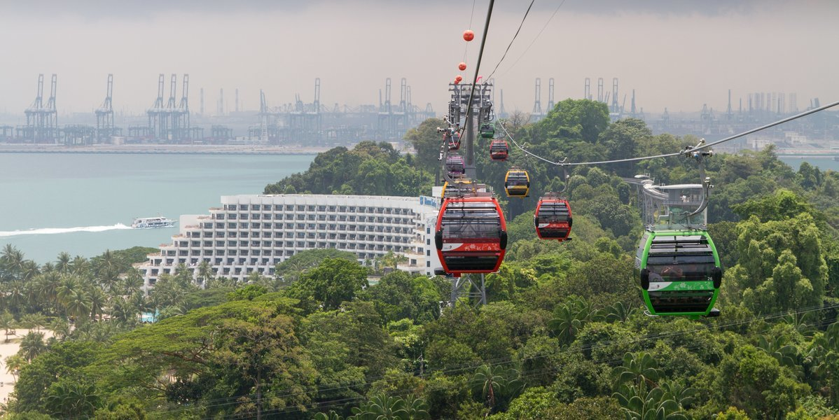 Cable Car Tickets in Singapore - Tour
