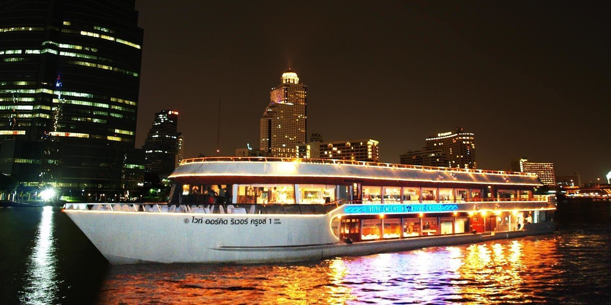 White Orchid River Dinner Cruise - International Buffet Tickets in Bangkok - Tour