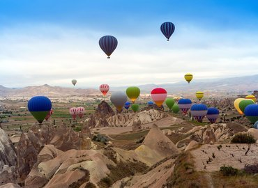 Hot Air Balloon Flight, Sightseeing in Cappadocia - Tour