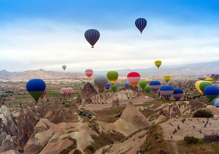 Hot Air Balloon Flight, Sightseeing in Cappadocia - Tour