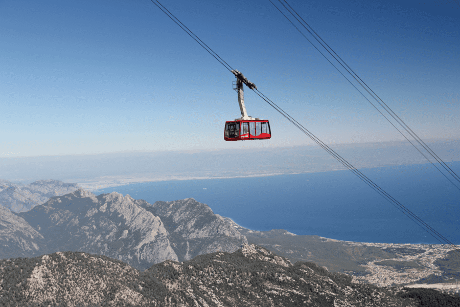 Olympos Cable Car Ride to Tahtali Mountain from Antalya, Sightseeing in Antalya - Tour