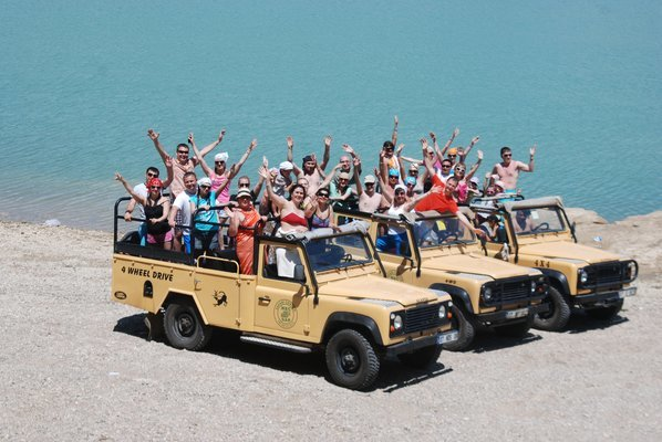 Jeep Safari in Antalya, Sightseeing in Antalya - Tour