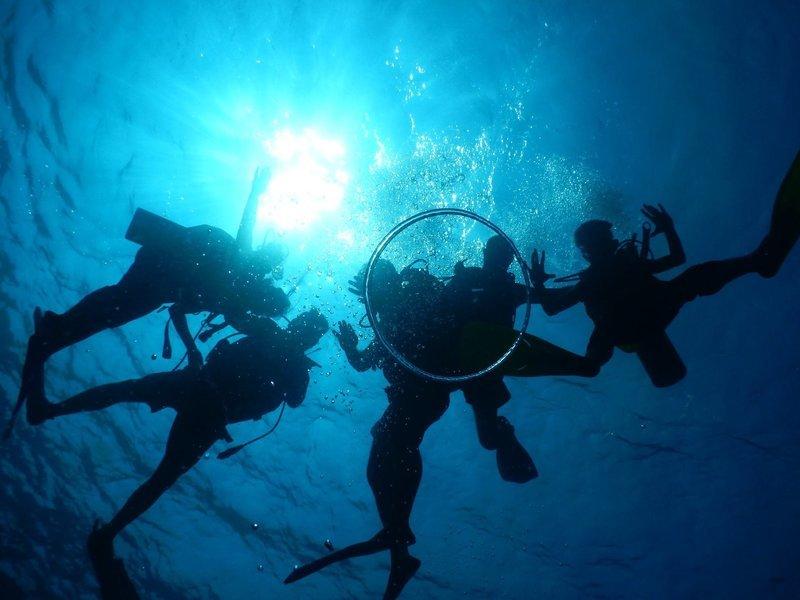 Scuba Diving at Grand Island in Goa - Tour