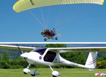 Combo#2 - Paramotoring & Microlight Flying - Tour