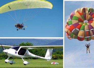 Combo#1 - Parasailing ,Paramotoring & Microlight flight - Tour
