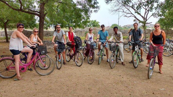 Heritage Bicycle Tour, Sightseeing in Hampi - Tour