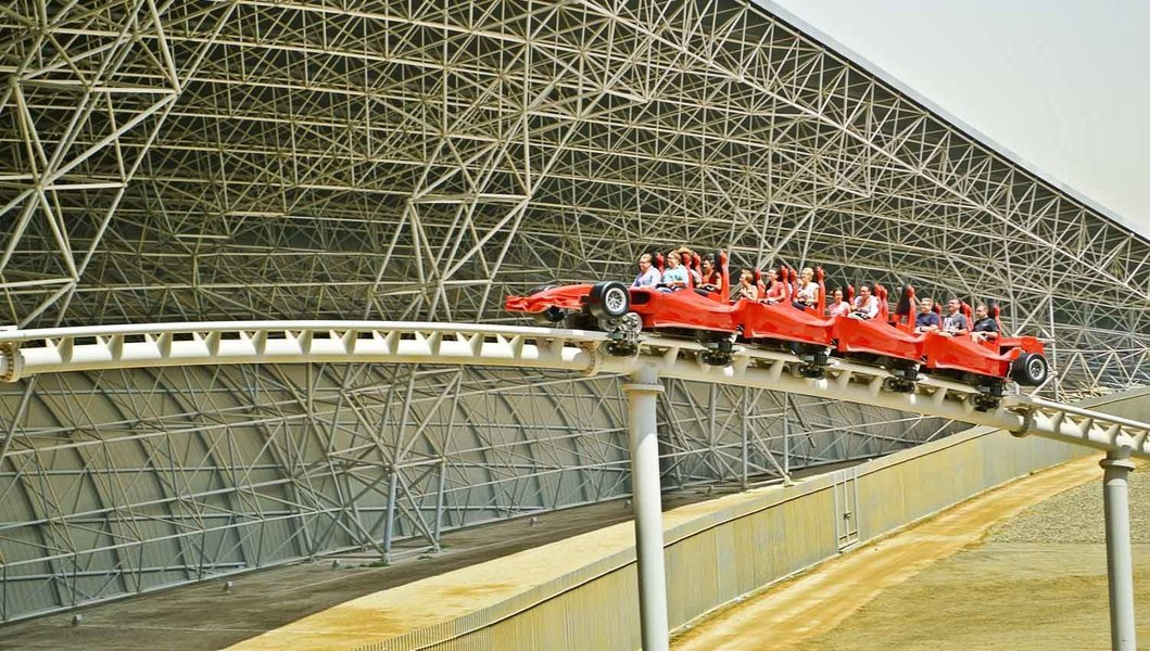 Ferrari world General Admission and Abu Dhabhi Scenic Tour with Grand Mosque visit - Tour