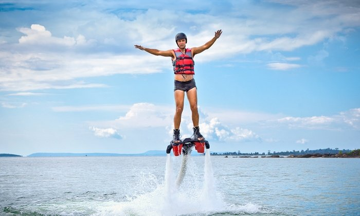 Jetlev Flyer Adventure - Tour
