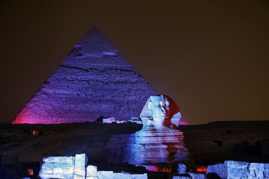 SOUND & LIGHT SHOW AT THE PYRAMIDS - Tour