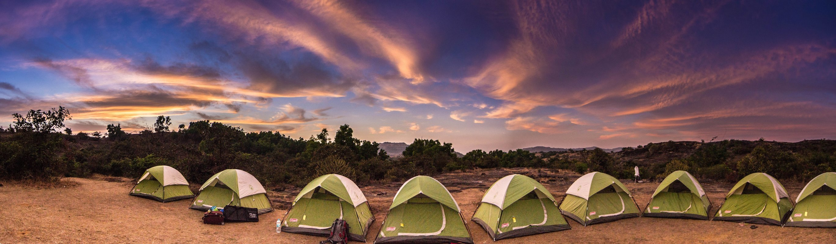 Experience the best and safe camping