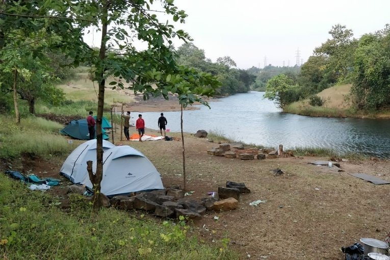 Camping + Devkund Waterfall Trek ( BBQ + Bonfire + Music ) - Tour