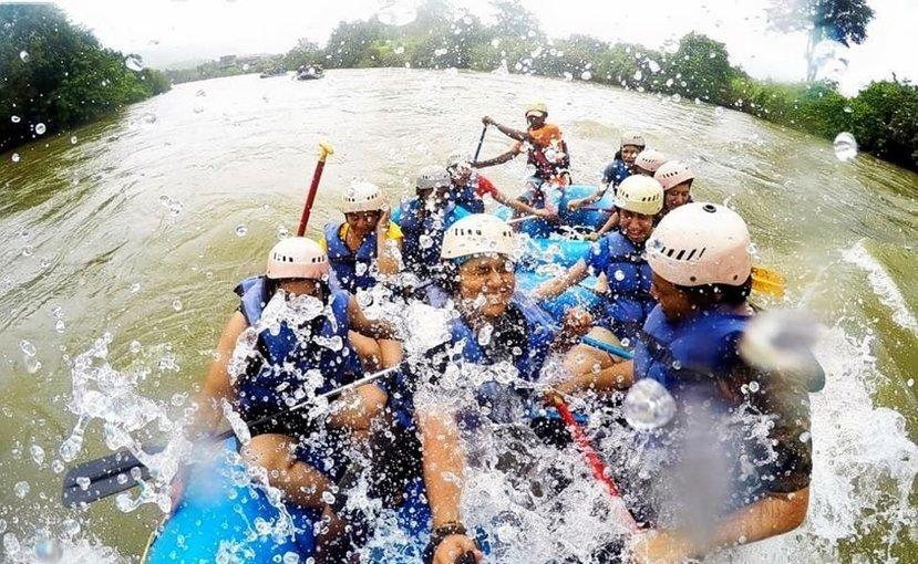 Camping + Devkund Trek + Kundalika River Rafting - Tour