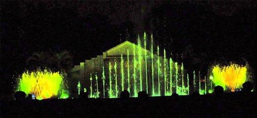 Indiragandhi Musical Fountain