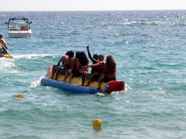 banana boat ride - Tour
