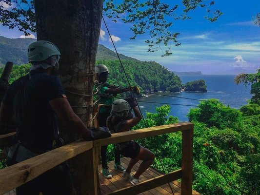 A Zip lining adventure park offering you a thrill of a lifetime! - Tour