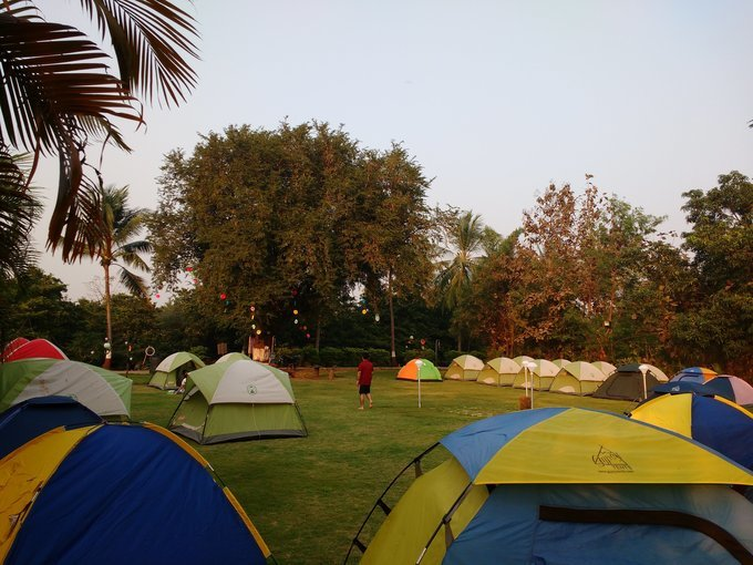 New Year Camping at Dahanu - Tour