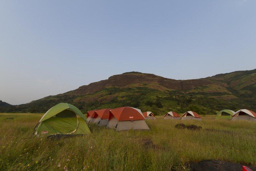 Camping in Lonavala Rockface - Tour