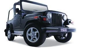 Mahindra Thar for rent for 4 days - Tour