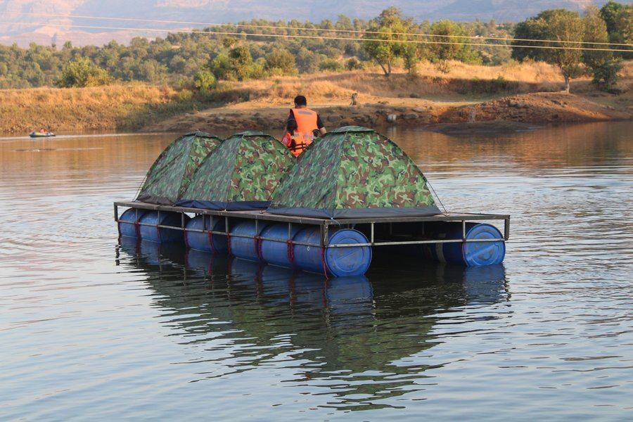 Kurungwadi Camping with Floating Tent Experience - Tour